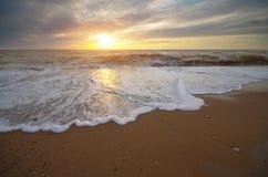 Belle nature de paysage marin Photos stock