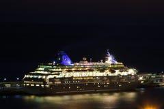 Belle navi e fodere di crociera Fotografie Stock