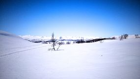 belle neige de ski d'horizontal de destination Image libre de droits
