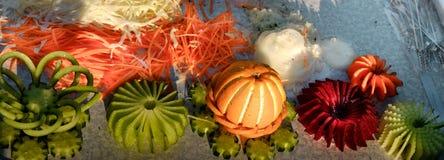Belle nourriture coupée en tranches Photo stock