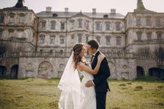Belle nozze delle coppie Fotografia Stock Libera da Diritti