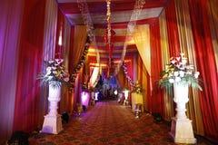 Belle nozze Enterence di eredità di Nalagarh fotografie stock libere da diritti