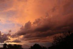 Belle nubi di tempesta Fotografia Stock Libera da Diritti