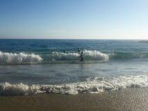 Belle onde costiere di SO-CO Fotografia Stock Libera da Diritti