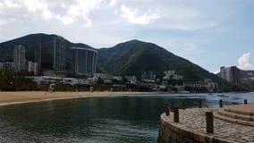 Belle perspective, baie d'échec, Hong Kong image stock
