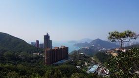 Belle perspective, Hong Kong photo libre de droits