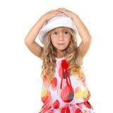 Belle petite fille Image libre de droits