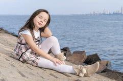 Belle petite fille Image stock