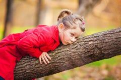 Belle petite fille d'enfant en bas âge Image libre de droits