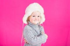 Belle petite fille heureuse Photo libre de droits