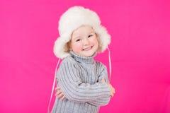 Belle petite fille heureuse Photos stock