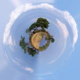Belle petite planète de paysage africain Photo libre de droits