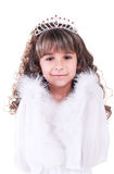 Belle petite princesse Photos stock