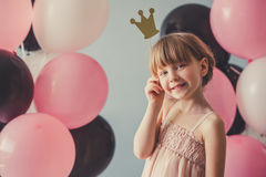 Belle petite princesse Photographie stock libre de droits