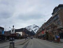 Belle petite ville Photos libres de droits