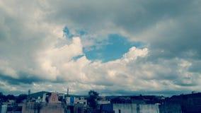 Belle photo de ciel Photographie stock