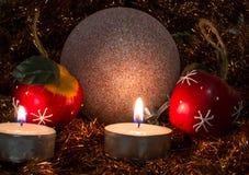 Belle photo de Noël Images libres de droits