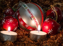 Belle photo de Noël Photos libres de droits