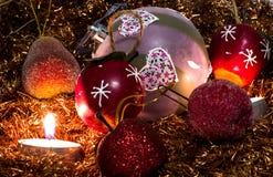 Belle photo de Noël Image libre de droits