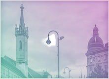 Belle photo de voyage des bâtiments historiques à Vienne Photographie stock libre de droits
