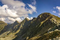 Belle pièce de Rohace du Tatras occidental photographie stock libre de droits