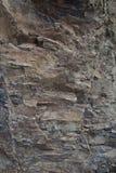 Belle pierre naturelle rose bleue dans mamie Canaria Photo stock