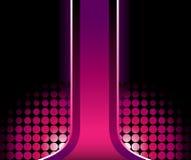 Belle piste 3D rose illustration de vecteur