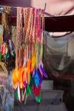 Belle piume di uccello per gli obiettivi decorativi Immagine Stock Libera da Diritti