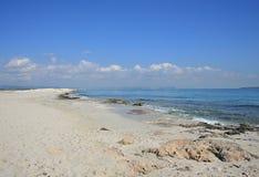 Belle plage Photos libres de droits