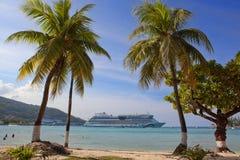 Belle plage Photographie stock libre de droits