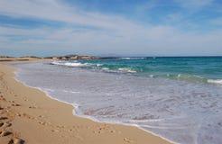 Belle plage Image libre de droits