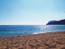Belle plage Image stock