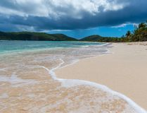 Belle plage photo stock