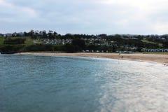 Belle plage australienne Image stock