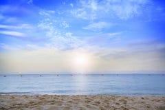 belle plage, Chonburi Thaïlande Image stock