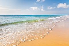 Belle plage d'océan Images libres de droits