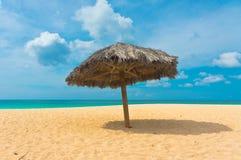 Belle plage dans Aruba, Caraïbes Images libres de droits