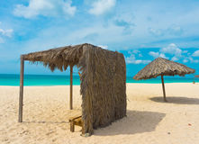 Belle plage dans Aruba, Caraïbes Image libre de droits