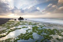 Belle plage dans Bali, Indonésie Photo stock