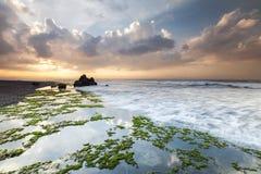 Belle plage dans Bali, Indonésie Photo libre de droits