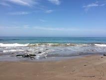 Belle plage dans Iquique Image libre de droits