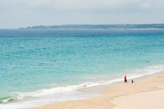 Belle plage dans Kenting photos stock