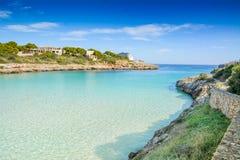 Belle plage de Cala Marcal Photos libres de droits