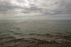 Belle plage de mer Photo stock