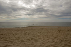 Belle plage de mer Photos stock