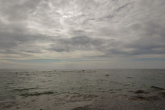 Belle plage de mer Image stock