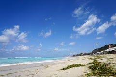 Belle plage de Pandawa sur l'île de Bali en Indonésie photo stock