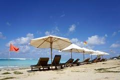 Belle plage de Pandawa sur l'île de Bali en Indonésie photos libres de droits