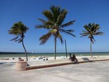 Belle plage de Progresso Photo libre de droits