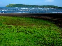 Belle plage de Ratnagiri Photo stock